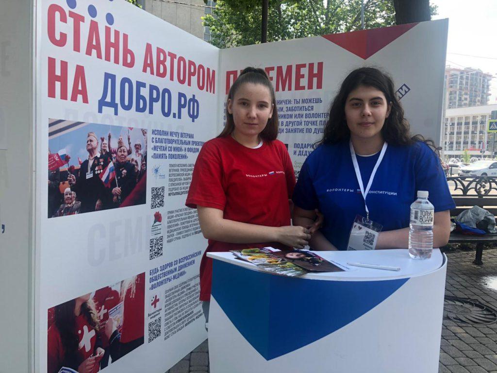Проект «Волонтеры Конституции»